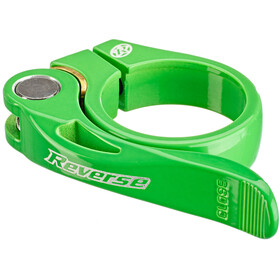 Reverse Long Life Seat Clamp Ø34,9mm, neon green
